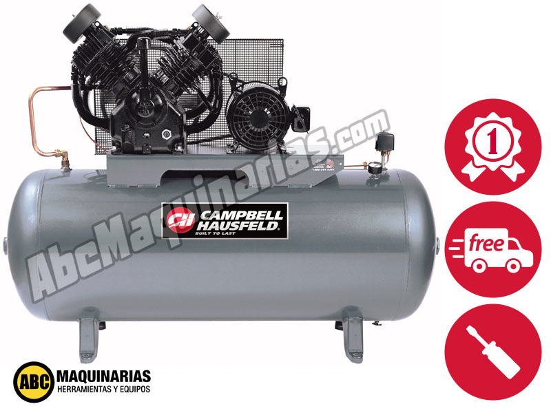 Compresor de aire electrico campbell 10 0hp 40cfm 175psi - Precio de compresores de aire ...